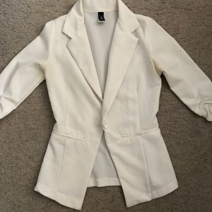 White Windsor Blazer
